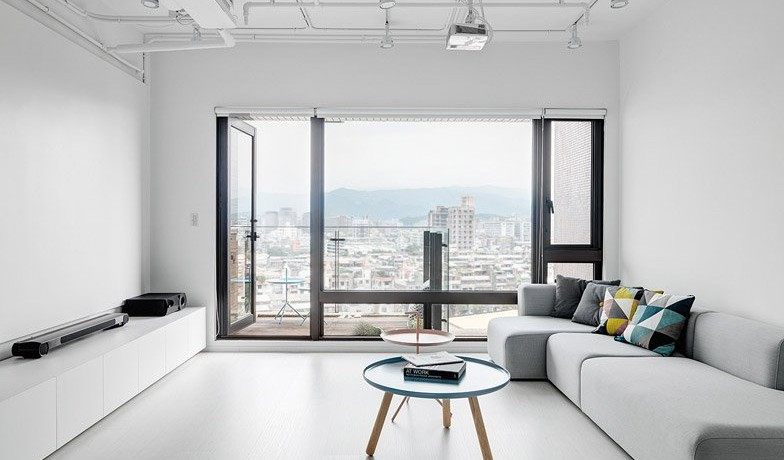 minimalist apartment